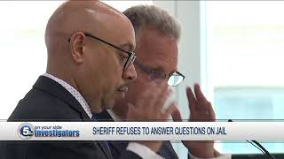 Sheriff Pinkney refuses to answer dozens of questions about county jail during council meeting