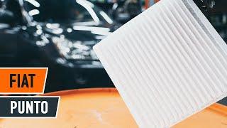 Come cambiare il filtro aria abitacolo di una Fiat Punto