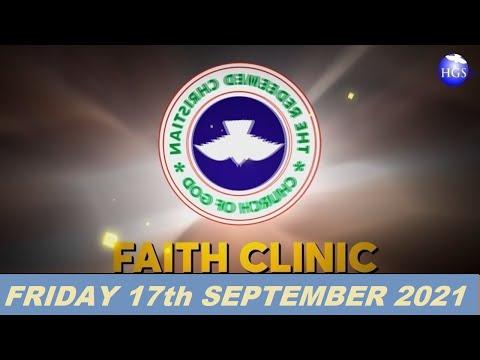 RCCG SEPTEMBER 17th 2021 FAITH CLINIC