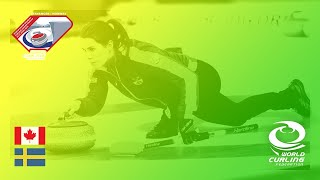 Canada v Sweden - round robin - World Mixed Doubles Curling Championship 2019