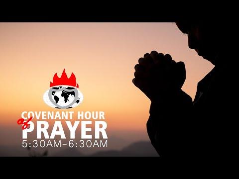 DOMI STREAM: COVENANT HOUR OF PRAYER  21, APRIL 2021.