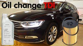 Cambio olio Volkswagen PASSAT B8