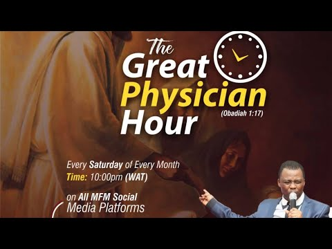GREAT PHYSICIAN HOUR 30TH MAY 2020 MINISTERING: DR D.K. OLUKOYA