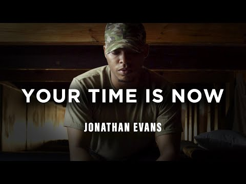 Your Time is Now by Jonathan Evans - Book Trailer
