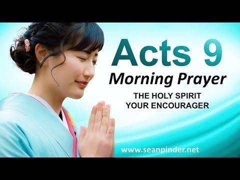 The Holy Spirit Your ENCOURAGER - Morning Prayer