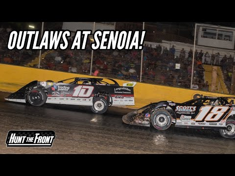 New Engine Put to the Test! World of Outlaws at Senoia Raceway! - dirt track racing video image