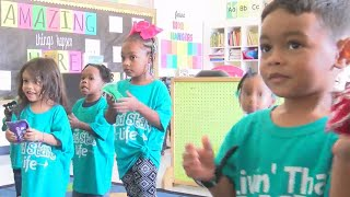 Head start students and staff gifted new shirts