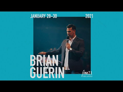 Be Transformed! Attend Fire21 and hear from Brian Guerin!