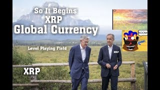 Ripple XRP: So It Begins XRP Will Be the Global Digital Currency . SLEEP WELL