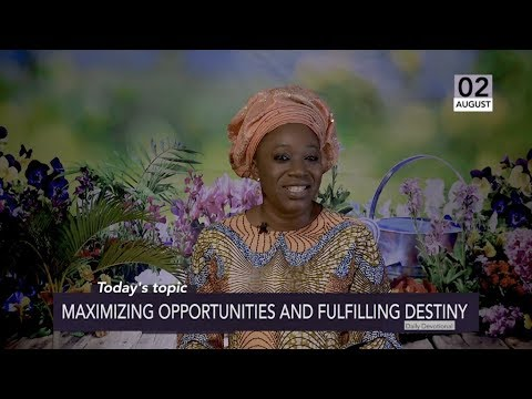 Dr Becky Paul-Enenche - SEEDS OF DESTINY  FRIDAY 2ND AUGUST 2019