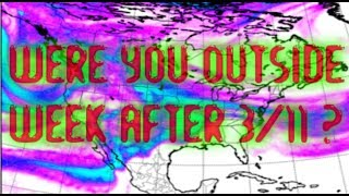 Fukushima Xenon 133 Clouds Over USA Animated Dispersal Model 3/21 - 3/26