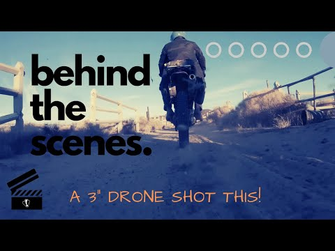 "Shooting a one take clip with a 3"" FPV drone 