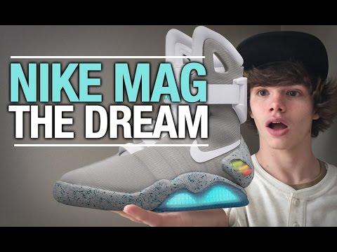 NIKE MAG THE DREAM !!! - UCv6zfVTPgfqB1o29iT68HIg