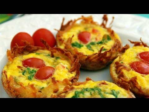 Potato Cup Frittata - How to Make Potato Cup Frittatas - Muffin Pan Frittatas - UCOC87AIBm2ul1metht5fY2A