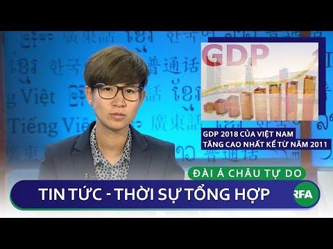 Tin nóng 24h 27/12/2018   GDP 2018 của Việt Nam tăng cao nhất kể từ năm 2011