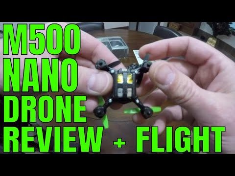 Sky Viper M500 Nano Drone Review And Flight