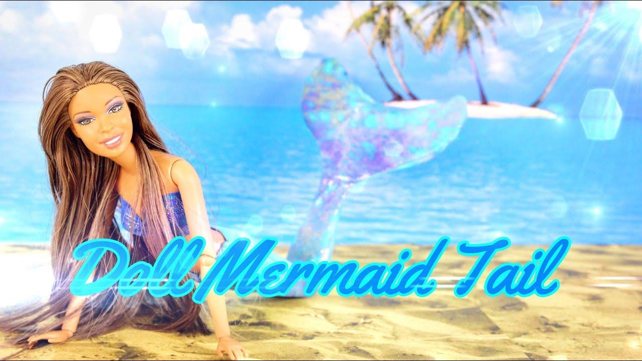 DIY - How to Make: Doll Mermaid Tail - Handmade - Doll - Crafts