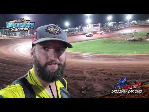 #3 Matt Sullivan - FWD - 9-11-21 Mountain View Raceway - In-Car Camera - dirt track racing video image