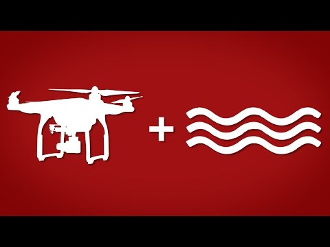 How to fly your drone over water   DJI PHANTOM