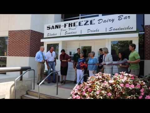 The famous Auburn icon, Sani-Freeze, returns, giving alumni the chance to revisit a stable of Auburn culture.