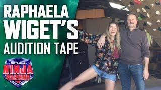 Raphaela Wiget shows off her home rock climbing wall | Australian Ninja Warrior 2019