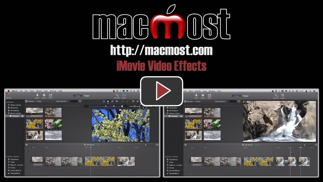 iMovie Video Effects – MacMost