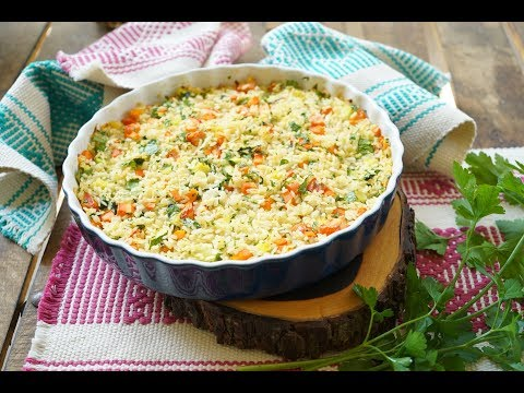 Pastel de arroz con kale y verduras - UCvg_5WAbGznrT5qMZjaXFGA