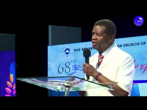 PASTOR E.A ADEBOYE FATHER'S BLESSING - WONDERFUL