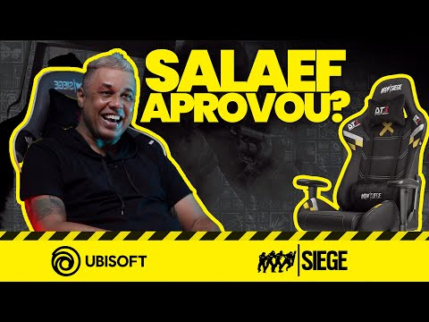 Salaef Testou as Cadeiras Gamer do Rainbow Six Siege! (DT3sports x Ubisoft)
