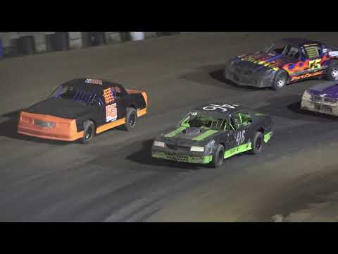 Street Stock A-Feature at Crystal Motor Speedway, Michigan on 09-05-2021!! - dirt track racing video image