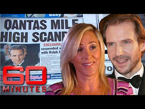 Flight attendant's 'Mile High Club' experience with Ralph Fiennes | 60 Minutes Australia - UC0L1suV8pVgO4pCAIBNGx5w