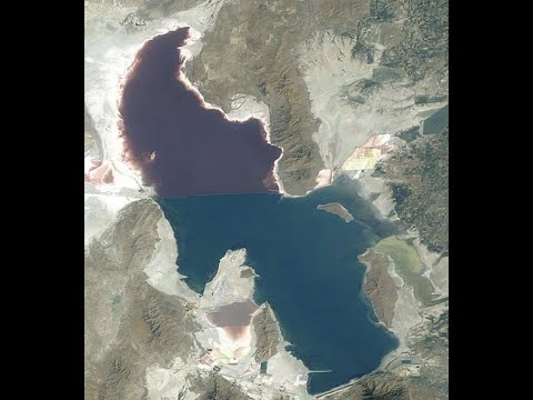Great Salt Lake 50% dry Iceland Volcano new fissures