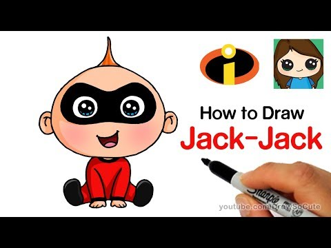 How to Draw Jack-Jack Easy | The Incredibles - UC3dEvA1is6-0_yuei9iCdEw
