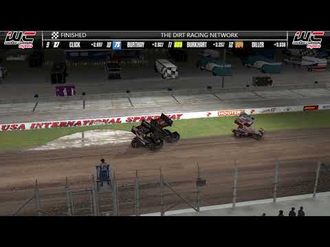 Dirt Slingers Monday Night Thunder Season 14 Round 10 @ USA Speedway OPEN - dirt track racing video image