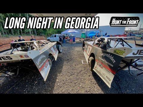 Big Wreck and a Hard Hit! Southern All Stars at Senoia Raceway - dirt track racing video image