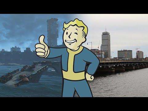 Fallout 4: Real-Life vs. In-Game Boston - UCKy1dAqELo0zrOtPkf0eTMw