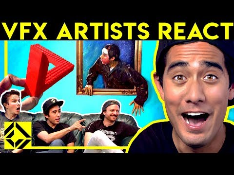 VFX Artists React to CGi Magic (ft. Zach King) - UCSpFnDQr88xCZ80N-X7t0nQ