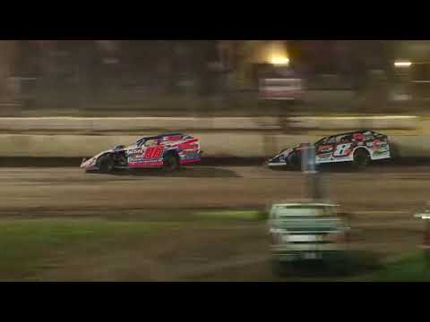 DIRTcar Summer Nationals Modifieds feature from Fairbury American Legion Speedway on June 23nd, 2018. - dirt track racing video image