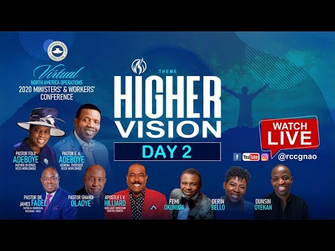 RCCGNA MINISTERS/WORKERS CONFERENCE 2020 _DAY2 - HIGHER VISION