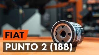 Come cambiare olio motore su una Fiat Punto