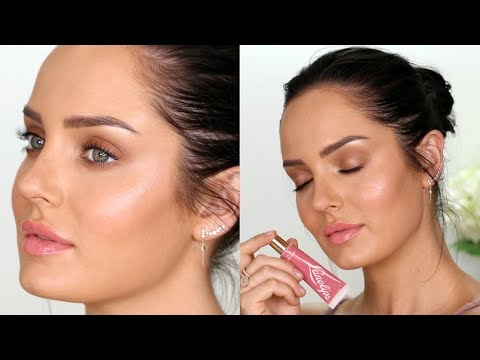 How to get Creamy Dewy Skin! \\ Natural Glow Makeup Tutorial