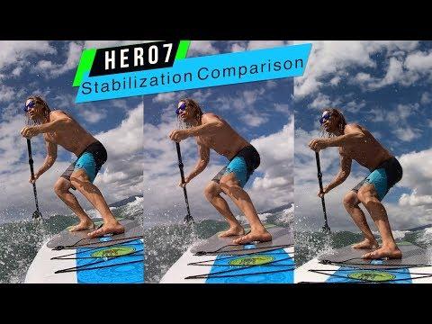GoPro Hero7: White Silver Black Stabilization Comparison! - GoPro Tip #639 | MicBergsma - UCe9ISaso6ar0A4IL5Ca6CBw