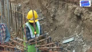 মেট্রোরেল পাইলিং এর কাজ দেখুন কিভাবে করা হয় || Amazing workers: How Piling is done || Street Walker