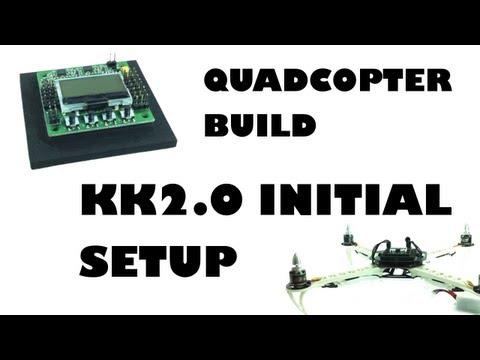 Quadcopter build - KK2.0 initial setup - eluminerRC - UC2HWAhBEE_PcbIiXgauGJYw