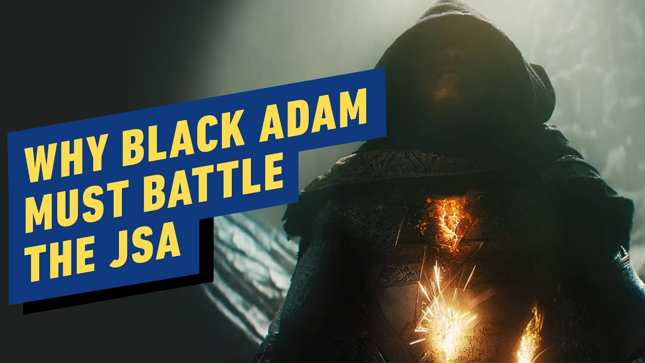 Why Black Adam Must Battle the JSA