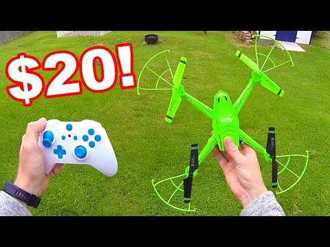 Crazy Cheap Huge Quadcopter RF607 Galaxy Vistor 2 Review - TheRcSaylors - UCYWhRC3xtD_acDIZdr53huA
