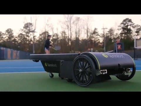 TenniBot autonomous tennis ball collector - UCCjyq_K1Xwfg8Lndy7lKMpA