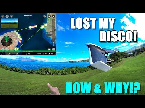 I lost my PARROT DISCO Drone in Hawaii! 😰 - Here's How & Why - UCVQWy-DTLpRqnuA17WZkjRQ