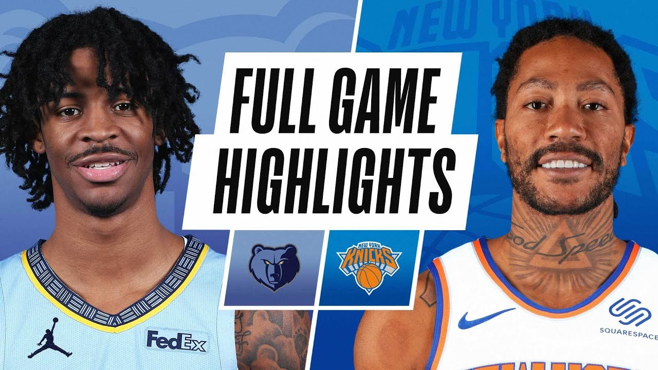 GRIZZLIES at KNICKS | FULL GAME HIGHLIGHTS | April 9, 2021