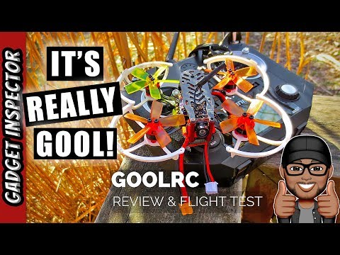 GoolRC G90 Pro Brushless Micro FPV Racing Drone Review and Flight Test - UCMFvn0Rcm5H7B2SGnt5biQw